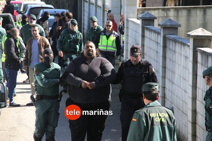 Detenido en Tomiño un hermano de Sinaí Giménez