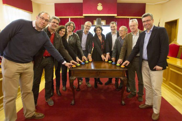 Los alcaldes de las comarcas inauguran la campaña Eu Rural, del programa LEADER