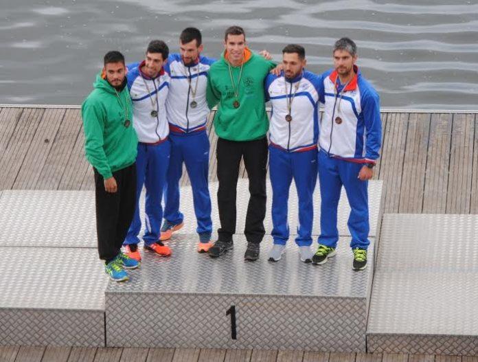El Kayak Tudense, líder de la Copa de España