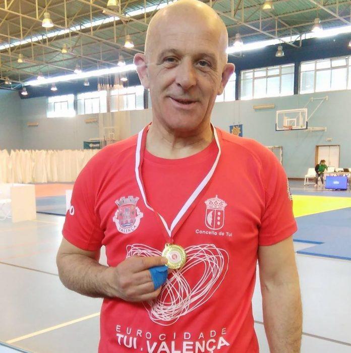 Medalla de Oro para el judoca de Tui Avelino Martínez