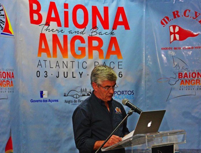 Presentan en las Islas Azores la Baiona Angra Atlantic Race