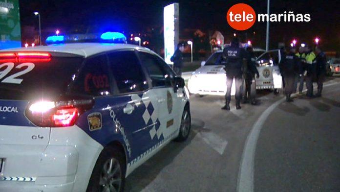 Dos años de cárcel para un conductor temerario detenido en Baiona