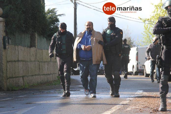 Al menos siete detenidos, entre ellos Sinaí Giménez, en una espectacular operación policial en Tomiño
