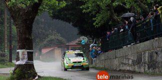 Adrián Gil dominó de principio a fin el II Rally Eurocidade Tui-Valença