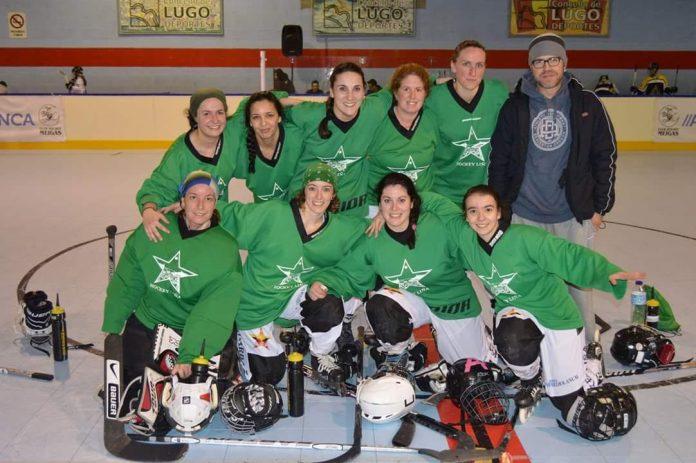 Nueva cita liguera para A Guarda Hockey Liña