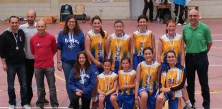 El equipo Infantil del Airexa Naranja Carmisa, subcampeón de la Copa Primavera