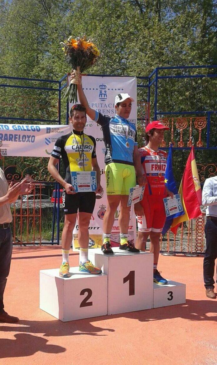 Aser Estévez, campeón del gallego de contrarreloj
