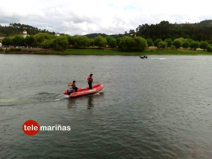 Buscan a un joven desaparecido por las aguas del río Miño