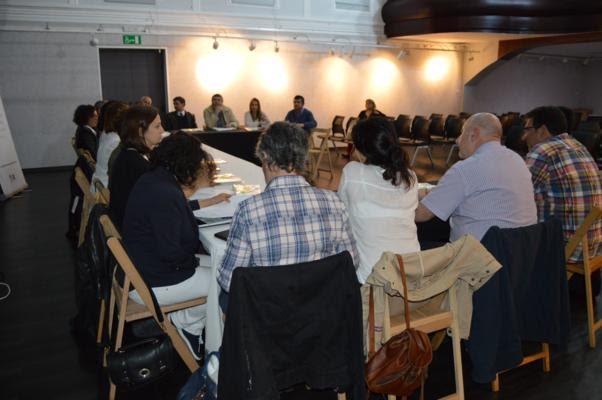 Tomiño acoge una reunión con debate sobre temas de nivel social para la población