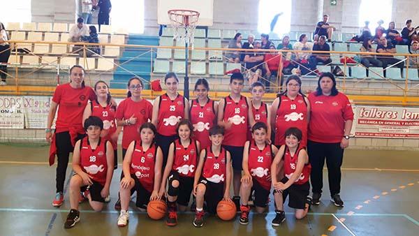 El Club de Baloncesto Nigrán, campeón absoluto en el concurso de tiro en Salceda