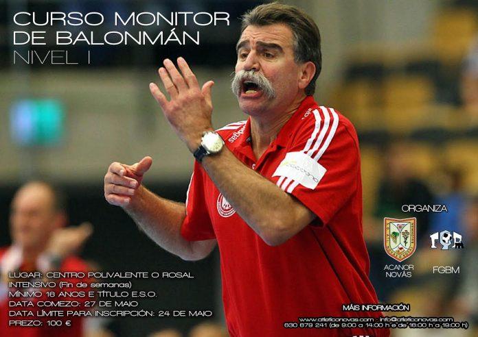 El Acanor Atlético Novás organiza un curso de monitor nivel I