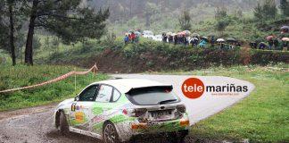 Félix Macías, vencedor del Trofeo Top Ten Pirelli en el II Rally Eurocidade Tui-Valença