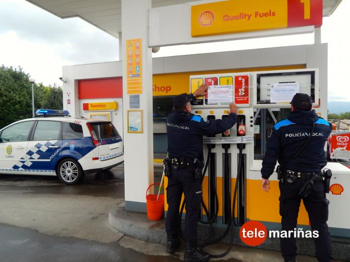 Orden de precinto, cese de actividad y demolición para la gasolinera de Torrón