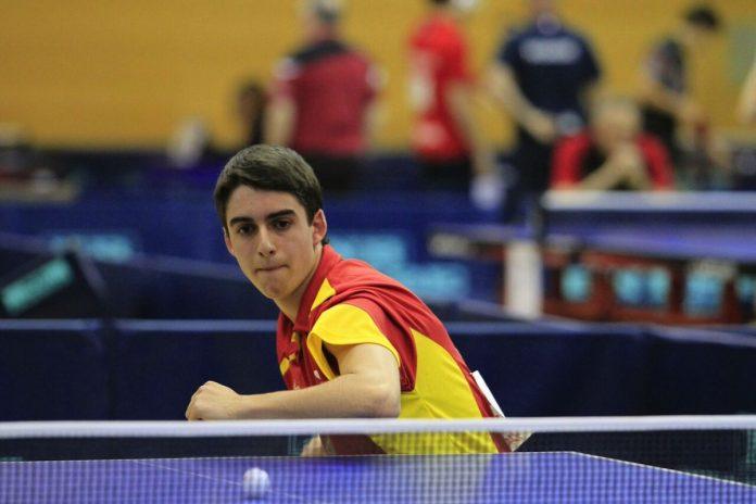 Martín Pintos formará parte de la Selección Española de Tenis de Mesa