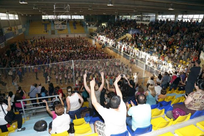 Tui acoge la clausura de las Escuelas Deportivas de Patinaje de la Diputación