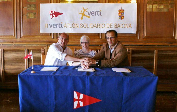 Baiona albergará en septiembre su segundo Vertiatlón Solidario