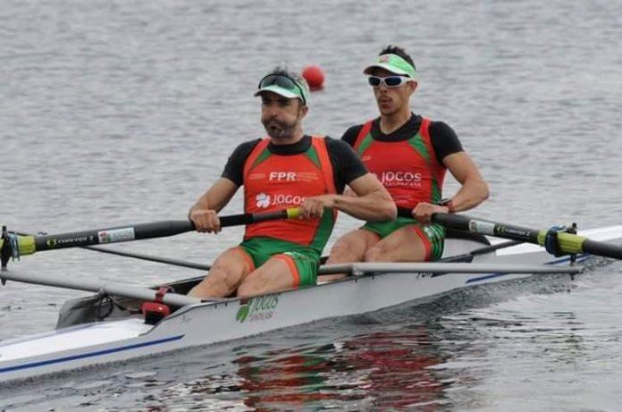 Jorge André y Coelho, remarán en la World Rowing Cup II