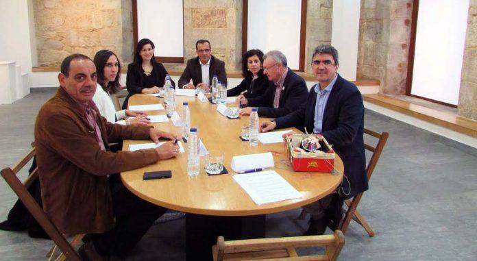 Reunión de los alcaldes y concejales de Turismo del Camino de Santiago Portugués por la Costa en A Guarda