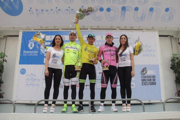Gutiérrez finaliza segundo y Blanco como mejor gallego en la Volta a Coruña