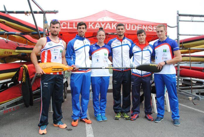 Seis palistas del Kayak Tudense buscan su pase para las grandes competiciones
