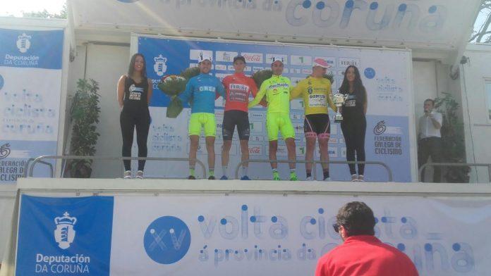 El Rías Baixas arranca fuerte en la Volta Ciclista a Coruña