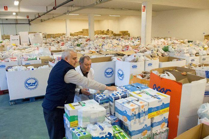 O Baixo Miño recauda fondos para el Banco de Alimentos de Vigo