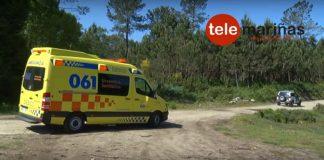 La Guardia Civil rescata a un jinete accidentado en el parque forestal de Zamáns