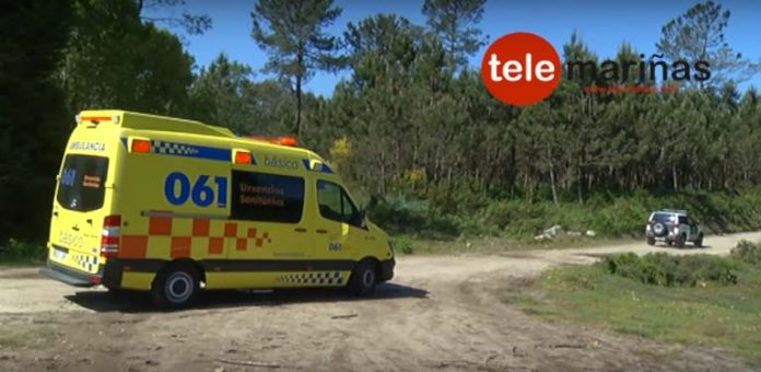 La Guardia Civil rescata a un jinete accidentado en el parque forestal de Zamáns