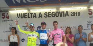 Aser Estévez roza el triunfo en la Vuelta a Segovia