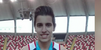 Medalla de bronce para el rosaleiro Javier Costas
