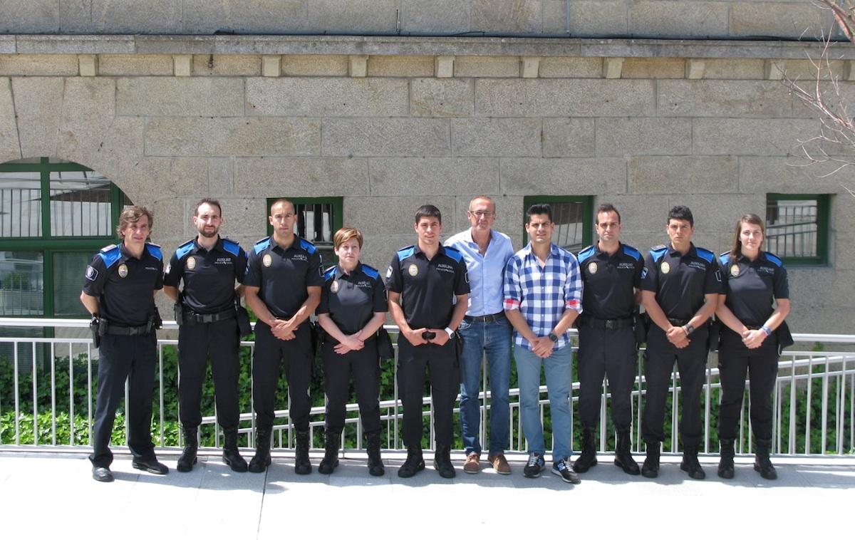 La Policía Local de Nigrán refuerza su plantilla con ocho ...