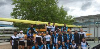 El Club Remo do Miño Tui logra doce medallas en el campeonato galego de remo olímpico