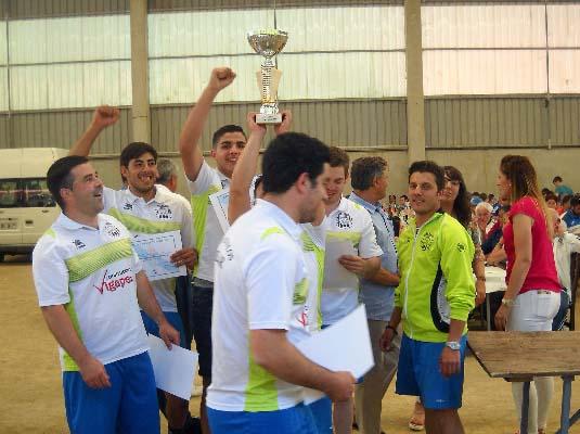 O Val Miñor celebró el VIII Campeonato Intercontinental de Bolos Celta