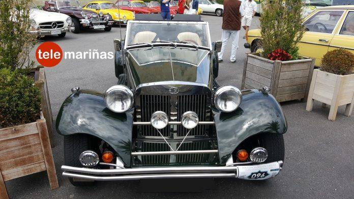 Concentración de más de un centenar de coches clásicos por las comarcas