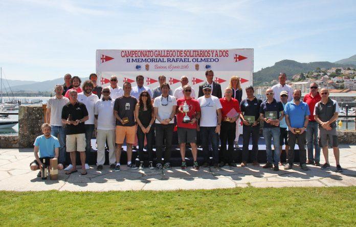 El Monte Real Club de Yates coronó a los nuevos campeones gallegos de crucero