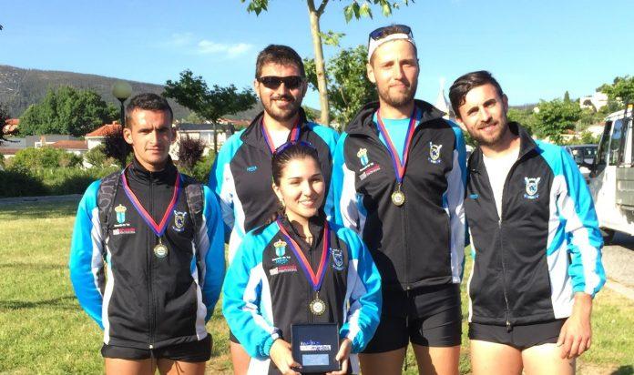 Medalla de oro para el Club Remo do Miño Tui en la regata Internacional de Gondomar