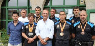 La Policía Local de Nigrán logra siete medallas en los Juegos Europeos de Policías y Bomberos