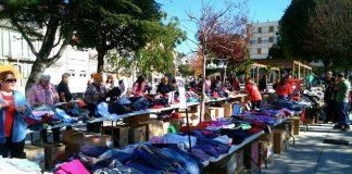 A Guarda acoge un mercadillo solidario a favor de Conrazones
