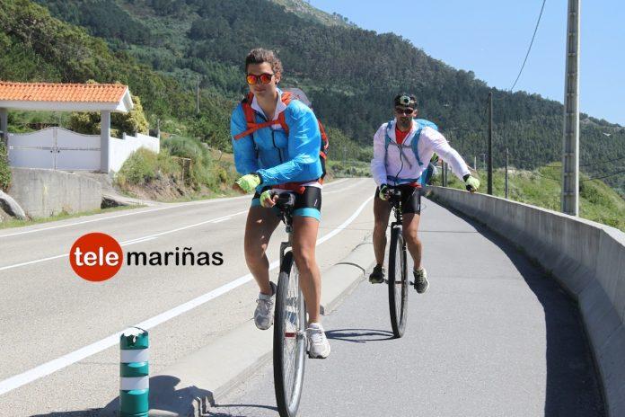 De Lisboa a Santiago en monociclo