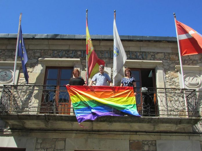 A Guarda celebra el día internacional del Orgullo Gay