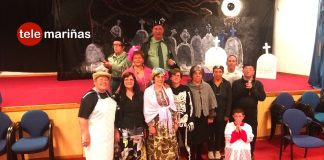 La casa de la cultura de Mougás acoge la obra teatral Maruxiña bailona