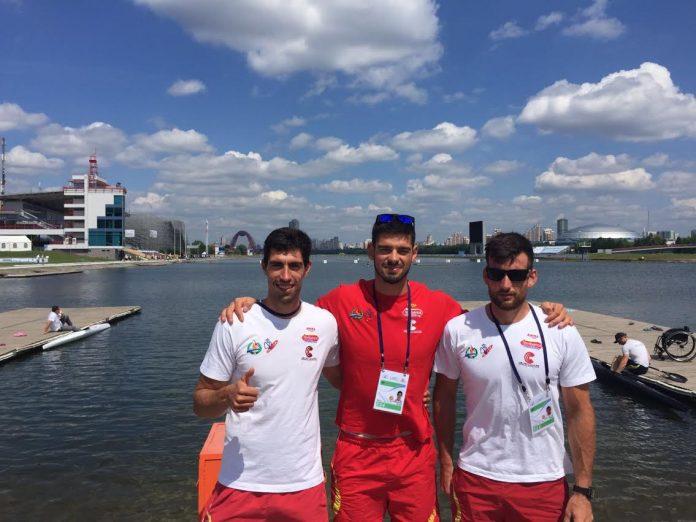Cuatro palistas del Kayak Tudense disputarán en Moscú el Campeonato de Europa