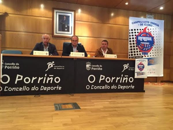 Tui y Porriño acogerán el Campeonato de España de Baloncesto Infantil Femenino