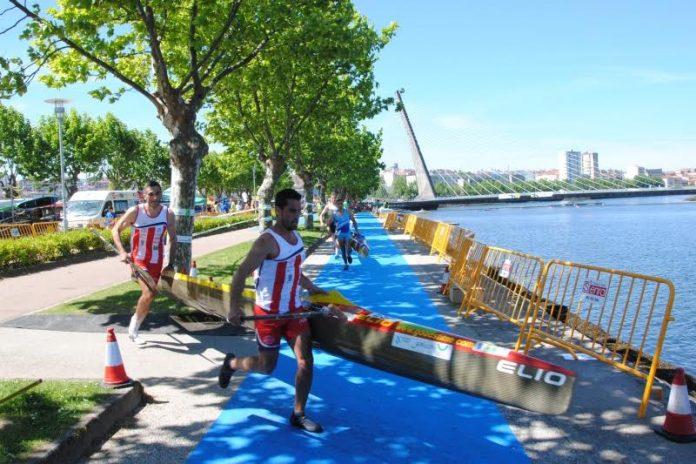 Arranca el desafío del Kayak Tudense en el europeo de maratón