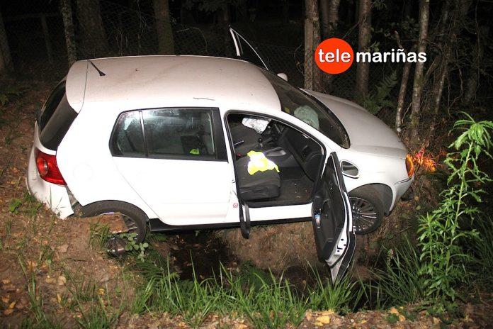 Accidentada noche en Tomiño con cuatro heridos en dos accidentes