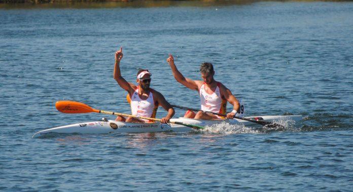 Iván Alonso y Diego Piña, del Kayak Tudense, campeones de Europa