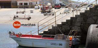 Rescatado tras volcar su embarcación en A Guarda