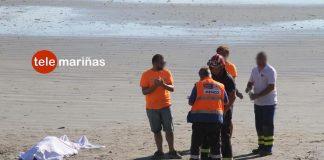 Fallece un vecino de Panxón en la playa de A Madorra