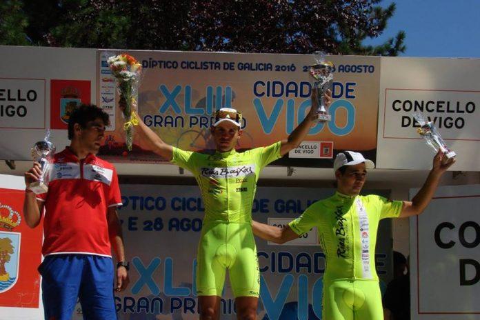 El guardés Aser Estévez se lleva la victoria en la general del Gran Premio Cidade de Vigo