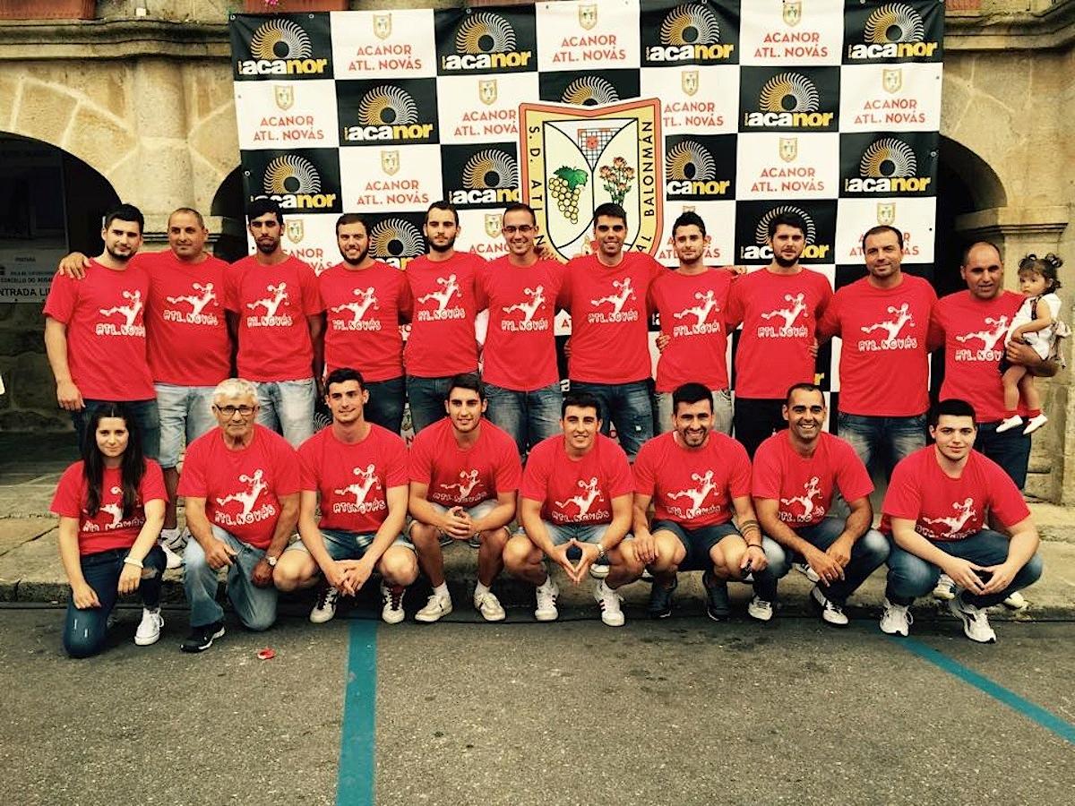 Cuartos de final de la Copa Galicia de balonmano en O Rosal ...
